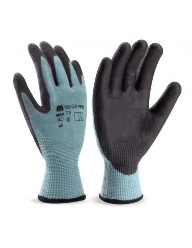 GUANTES DE FIBRA ANTICORTE NIVEL F