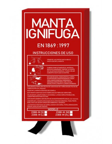 MANTA IGNIFUGA 1.20MX1.80M EN1869